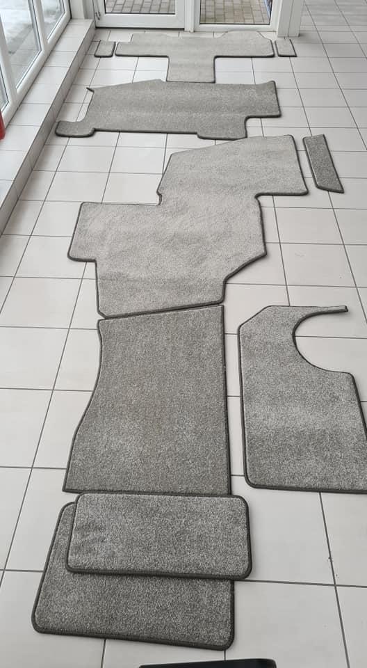 Kemperių kilimėlių gamyba ir montavimas